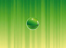 Green background composition Royalty Free Stock Images