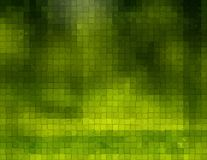 Green Background With cubes, Royalty Free Stock Image