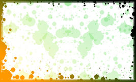Green background. Background or frame can be used for background or become a frame for photos Stock Photography
