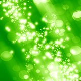 Green background. Fresh green background with some blurred lights on it vector illustration