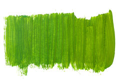 Green background gouache Stock Photography