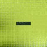Green background with halftone dots Stock Images