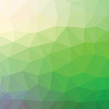 Green background. Illustration  with abstract green background. Graphic Design Useful For Your Design.Green polygonal texture Stock Image