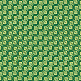Green background with leaves. The leaves of the tree are directed in different directions are formed in a common background. Vector Royalty Free Stock Photos