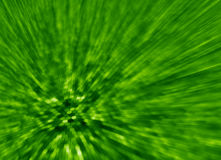 Green background light streaks and hexagons Royalty Free Stock Photography