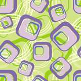 Green background from lilac square Royalty Free Stock Photo