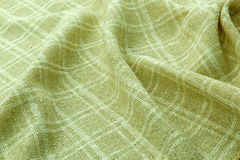 Green background luxury cloth or wavy folds of grunge silk texture satin velvet. Abstract background luxury cloth or liquid wave or wavy folds of grunge silk Stock Images
