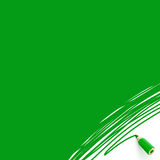 Green background with pencil Royalty Free Stock Photography