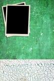 Green Background and Photos Stock Photos