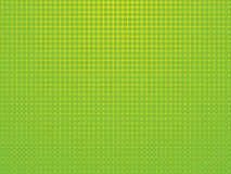 Green background with polka dots Stock Photo