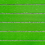Green background with raindrops Stock Photos