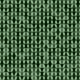 Green Background With Rhombus. Vector. Stock Photography