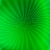 Green background with slightly swirling beams Stock Photos