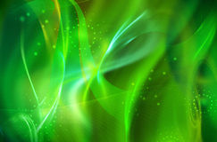 Green Background. Green smooth abstract background with shining light Royalty Free Stock Photo