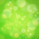 Green background soft bokeh Royalty Free Stock Images