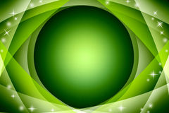 Green background / Special frame Stock Photos