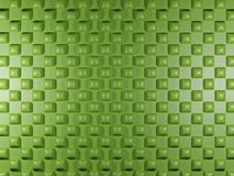 Green background with square elements Royalty Free Stock Photos