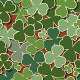 Green background for St. Patrick's Day Royalty Free Stock Photography