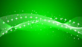 Green background with stars. Vector illustration vector illustration