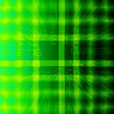 Green background stripes grid Stock Images
