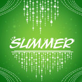 Green background for Summer party stock photos