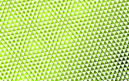 Green background triangle.