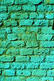 Green background urban graffiti Stock Photography