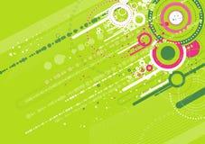 green background,vector Royalty Free Stock Photos
