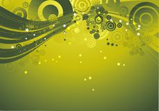 Green background, vector Stock Photos