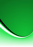 Green background vector. Minimal background wave popular and fashionable design Stock Images
