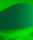 Green background with wave design vector illustration