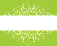 Green background with white Royalty Free Stock Photos