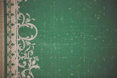 Green background. Royalty Free Stock Images