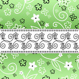 Green Background With A Horizontal Stripe Royalty Free Stock Photos