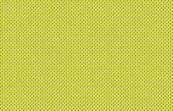 Green background yellow apples festive wrapping paper texture pattern Royalty Free Stock Photos