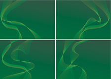 Green backgrounds Stock Photo