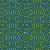 Green backgrounds with seamless patterns. Ideal for printing. Onto fabric and paper or scrap booking. Vector illustration Royalty Free Stock Photo