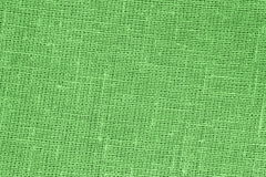 Green backround - Linen Canvas - Stock Photo. Green backround - Linen Canvas : abstract backdrop  or  tablecloth wallpaper  or  pattern for article on sewing or Royalty Free Stock Photo