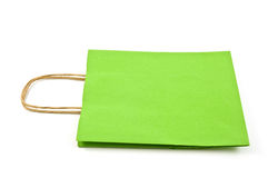 Green bag Royalty Free Stock Photography