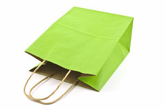 Green bag Stock Images