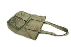 Green bag Royalty Free Stock Photography