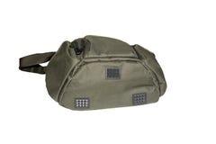 Green bag for fishing Stock Photo