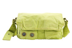 Green Bag | Isolated Royalty Free Stock Image