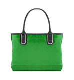 Green bag Royalty Free Stock Image