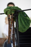 Green Bagpipe Stock Photos