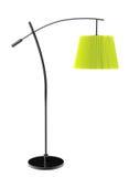 Green balanced floor lamp Royalty Free Stock Image