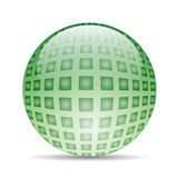Green ball Royalty Free Stock Photos