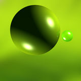 Green ball Stock Photography