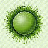 Green ball Stock Images