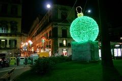 Green ball Royalty Free Stock Photo